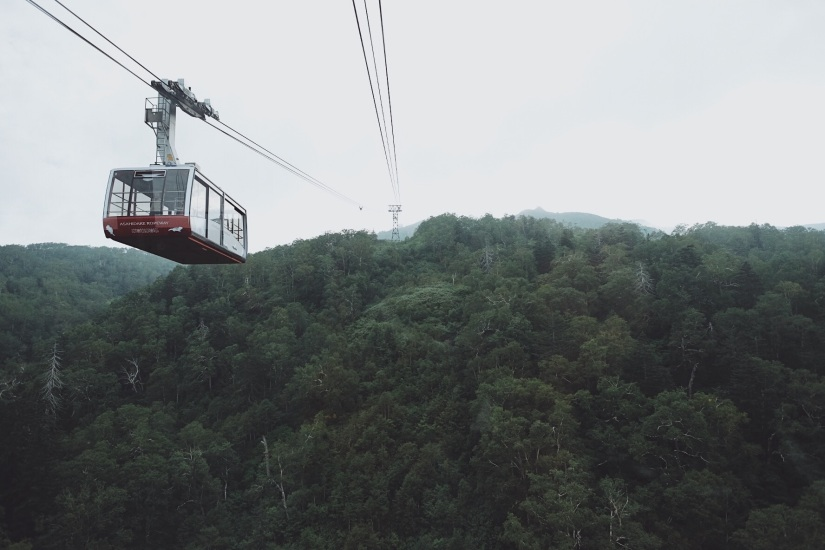 Mt. Asahi (旭岳) (Pt. 1)2291m