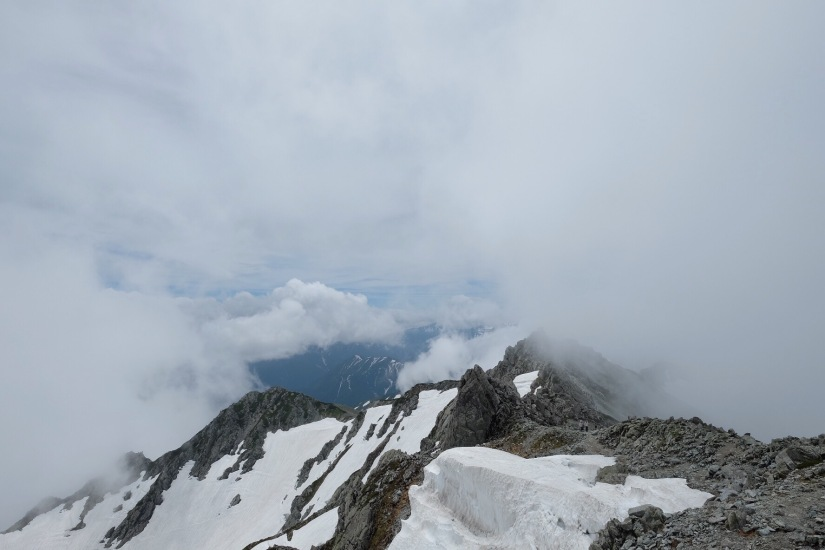 Mt. Tateyama (立山)3015m